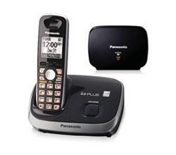 Panasonic Extended Range Cordless Phones kx tg6511b bonus range extender