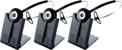 Jabra GN Netcom 3 Headset Bundles jabra pro 920 3 pack