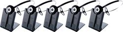 Jabra GN Netcom 5 Headset Bundles jabra pro 920 5 pack