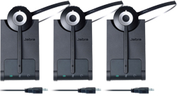 Jabra Mono Wireless Headsets for Lync jabra pro 930 ms 3 pack