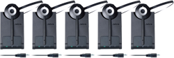 Jabra Mono Wireless Headsets for Lync jabra pro 930 ms 5 pack