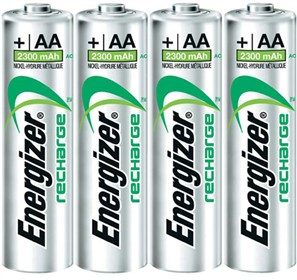 energizer rechargeable nimh aa