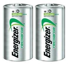 Energizer Size D Batteries  energizer rechargeable nimh size d