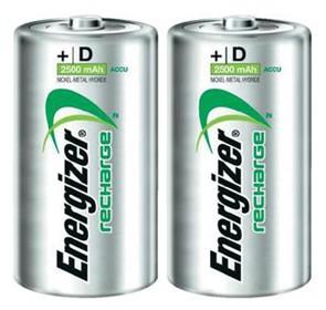 energizer rechargeable nimh size d