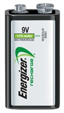 Energizer 9v / 6v / Photo Batteries  energizer rechargeablenimh 9v