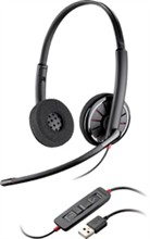 Plantronics Corded Headsets plantronics blackwire c320 m