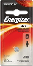 Hearing / Watch / Coin Cell Batteries energizer 377bpz