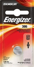Hearing / Watch / Coin Cell Batteries energizer 386bpz