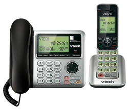 2 Handsets Phones with an Answering Machine VTech cs6649