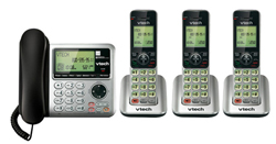 VTech 4 Handsets Wall Phones   VTech cs6649 3