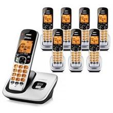 Six Handset Phones uniden d 1760 8