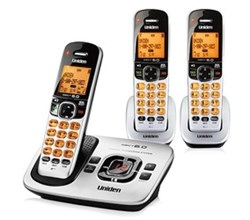 Three Handset Phones uniden d 1780 3