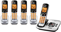 Uniden Five Handsets DECT 6 Cordless Phones uniden d 1780 5
