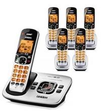 Six Handset Phones uniden d 1780 6