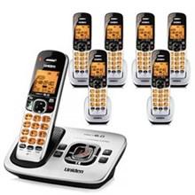 Six Handset Phones uniden d 1780 7