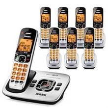 Six Handset Phones uniden d 1780 8