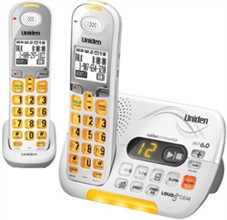 Two Handset Phones uniden d 3097 2
