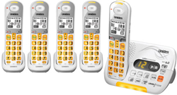 Uniden Five Handsets DECT 6 Cordless Phones uniden d 3097 5