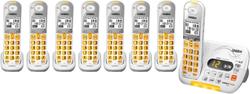 Uniden Six Handsets DECT 6 Cordless Phones uniden d 3097 8