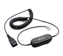 Jabra Quick Disconnect to Phone Jack jabra qd siemens os coiled 8800 01 94