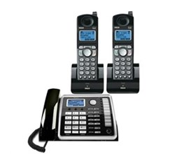 General Electric RCA DECT 6 Three Handset Cordless Phones ge rca 25260 plus 2 25055re1