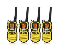 4 Radios motorola ms350r 4units