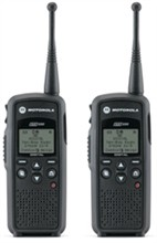 2 Radios motorola dtr550 2units
