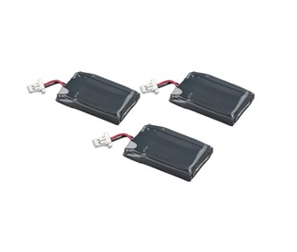 battery for plantronics 86180 01 3 pack