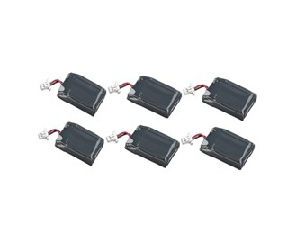 battery for plantronics 86180 01 6 pack