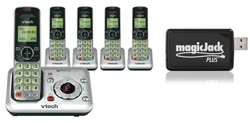 Vtech Answering Systems VTech cs6429 5 with magicjack plus