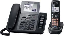 Panasonic Corded Cordless Phones panasonic kx tg9471b r
