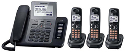 Panasonic 2 Line Cordless Phones panasonic KX TG9473B