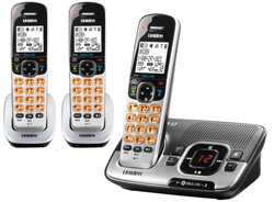 Uniden Wall Phones uniden d1780 3bt r