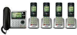 VTech Answering Systems VTech cs6649 3 plus cs6609 1