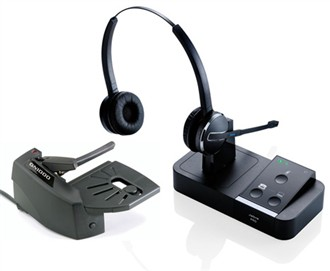 jabra pro9450 duo with lifter