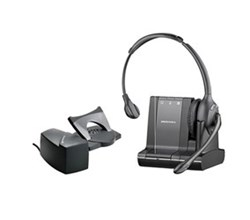 Plantronics Home Office Headset Systems savi w710 with lifter