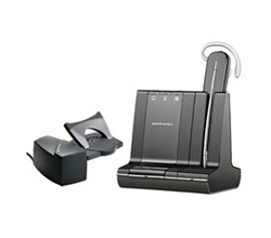 Office Bluetooth Headsets plantronics savi w740 m
