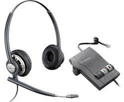 Plantronics Reconditioned Wireless and Corded Headsets plantronics encorePro hw301n with m22 amplifier