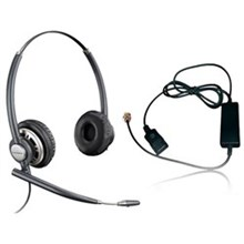 Plantronics Reconditioned Wireless and Corded Headsets plantronics encorePro hw301n with a10 adaptor