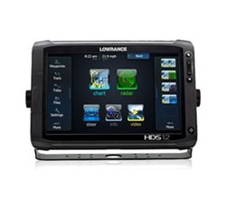 Lowrance HDS 12 Multifunction Fishfinder Chartplotters lowrance hds 12 gen2 touch insight without transducer