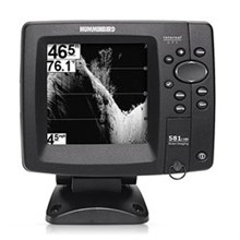 Humminbird 500 Series FishFinders humminbird fishfinder 581i hd di combo