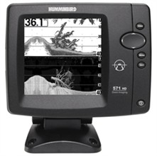 Humminbird Down Imaging humminbird fishfinder 571 hd di