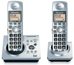 Panasonic DECT 6 0 2 Handsets panasonic kx tg1032