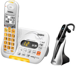Uniden Amplified Wall Phones uniden d3097 with wireless headset