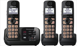 Panasonic 3 Handset Single Line kx tg4733b