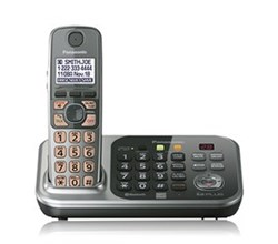DECT 6.0 Cordless Phones Talking Caller ID panasonic kx tg7741s