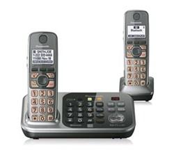 Panasonic Link 2 Cell 2 Handsets panasonic kx tg7742s