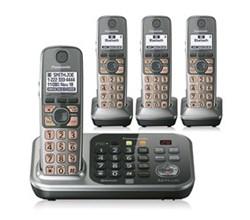 Panasonic Link 2 Cell 4 Handsets panasonic kx tg7744s