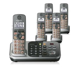 Panasonic Link 2 Cell 5 Handsets panasonic kx tg7745s