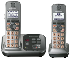 DECT 6.0 Cordless Phones Talking Caller ID panasonic kx tg7732s